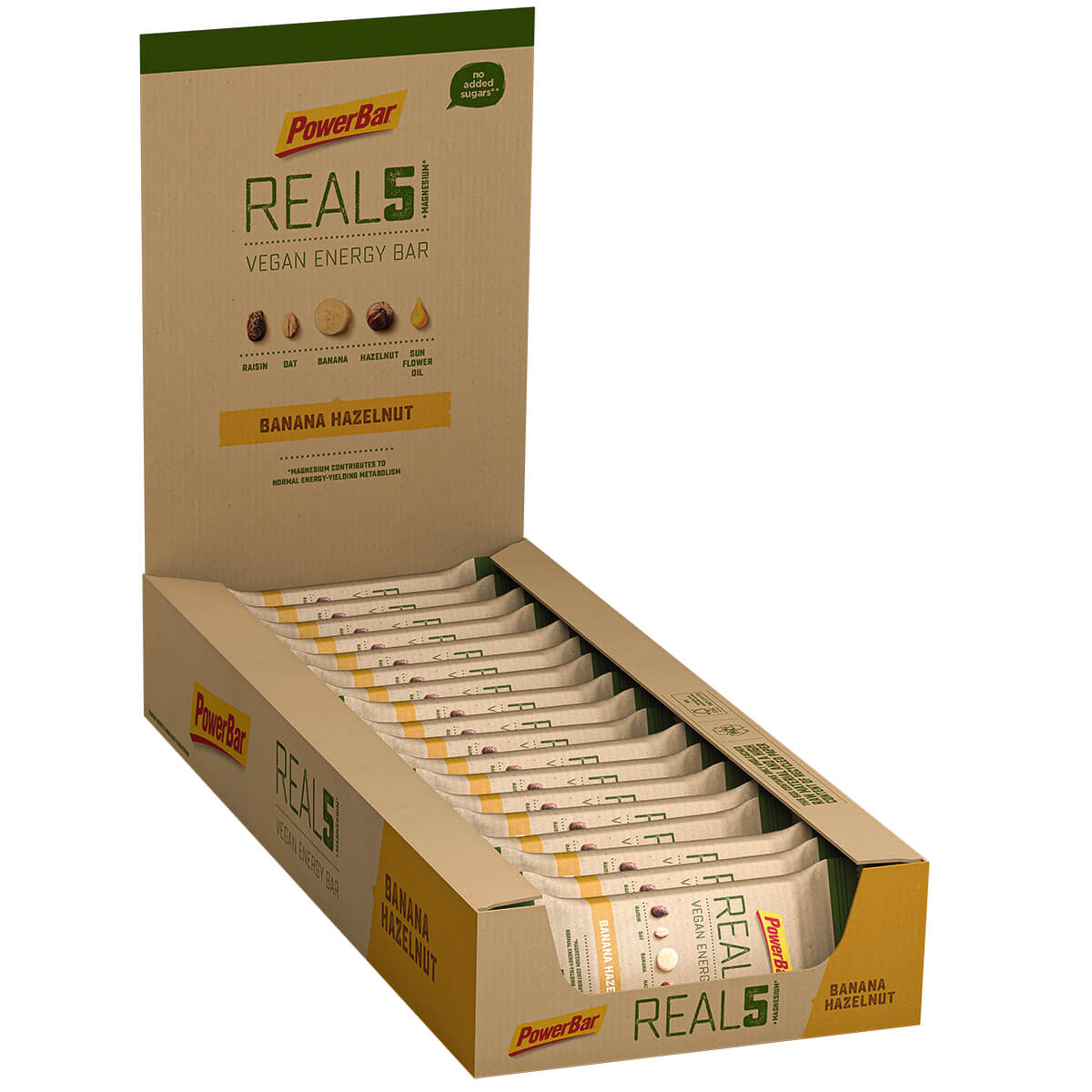 REAL5 Vegan Energy Bar - MHD AKTION