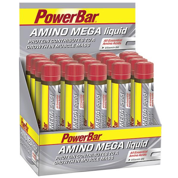 Amino Mega Liquid – Molkeneiweißhydrolysat Ampullen   PowerBar Shop