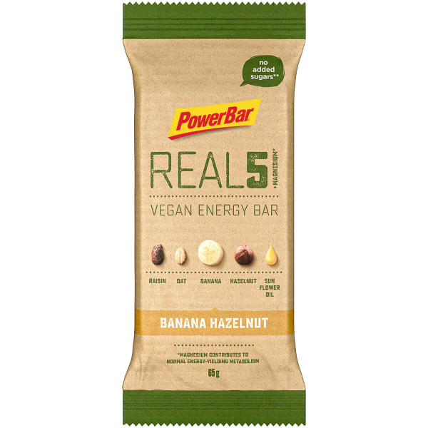 REAL5 Vegan Energy Bar